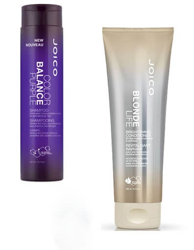 Blonde Life Conditioner and Color Balance Purple Shampoo