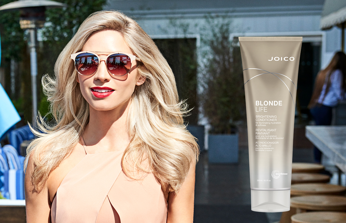 Blonde Life Conditioner product and model