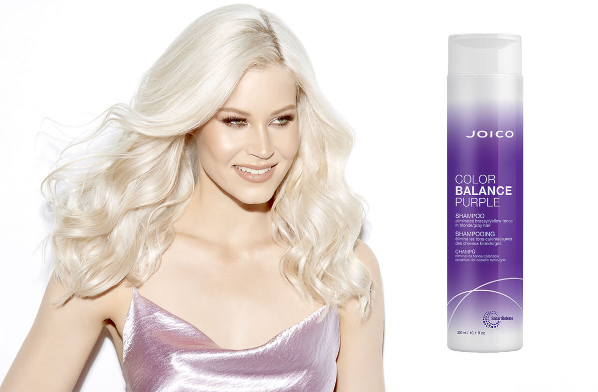 Joico Color Balance Purple Shampoo bottle
