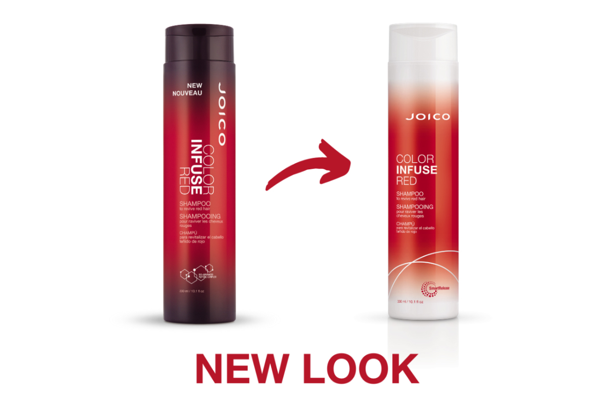 Joico Color Infuse Red Shampoo bottle