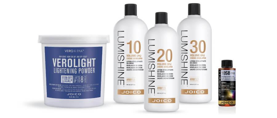 Lumishine and Lightening powder products