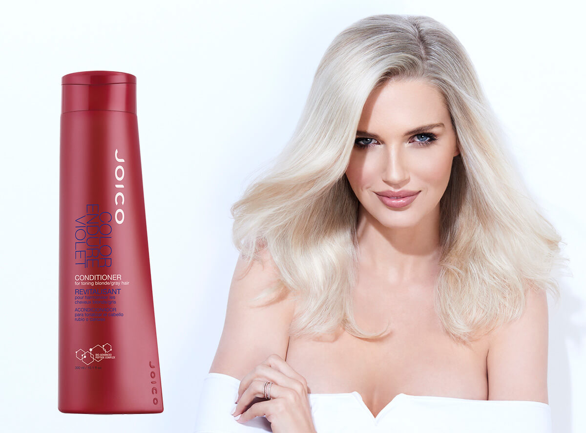 Color Endure Violet Conditioner Model and Product