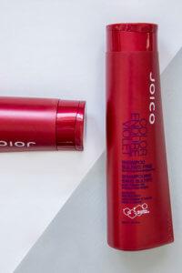 Color endure violet shampoo bottle