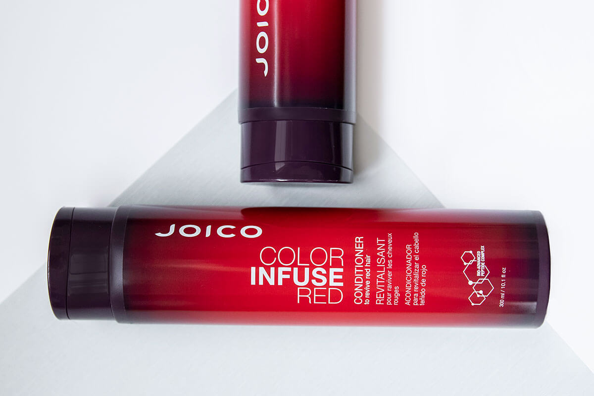 Color Infuse Red conditioner bottle
