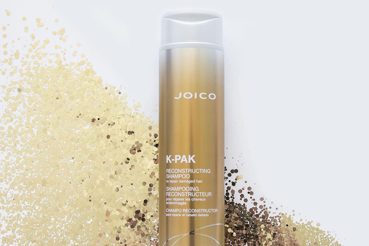 K-PAK Reconstructing Shampoo bottle