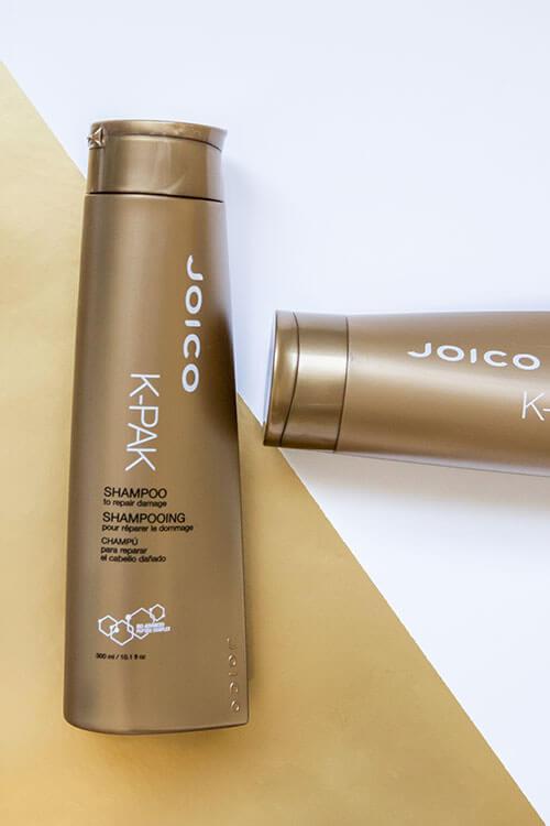 K-PAK shampoo bottle