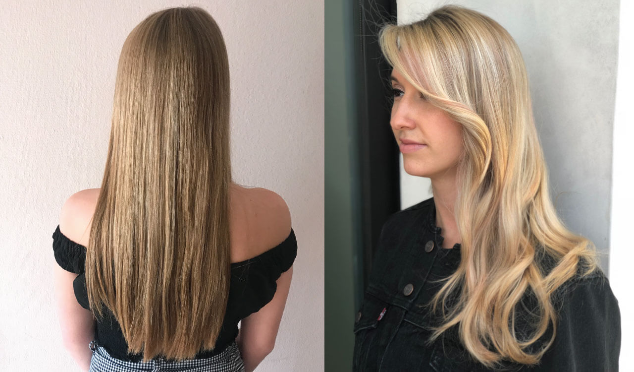 blonde diffusion technique before and after