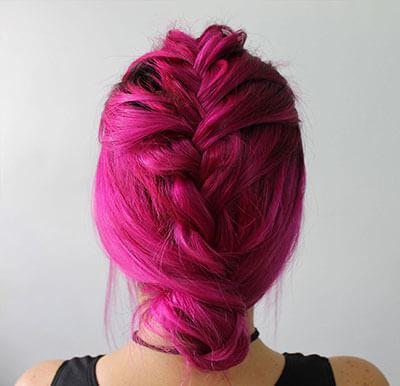 Deborah Camacho cut and color hairstyle