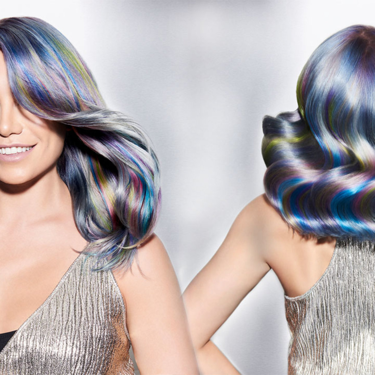 Color Intensity hair color model after