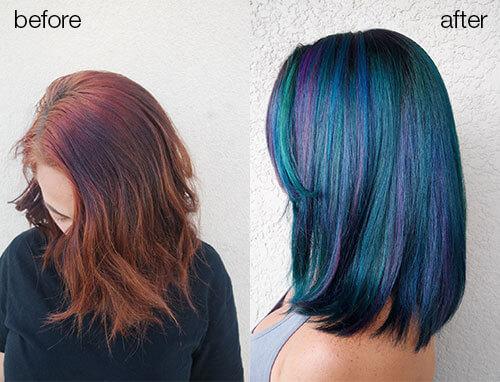 Ricardo Santiago Color and cut hairstyle