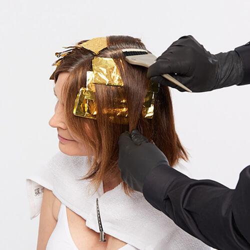 Ageless brunette hair color technique step6