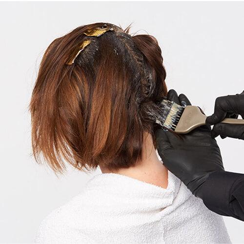 Ageless brunette hair color technique step 7