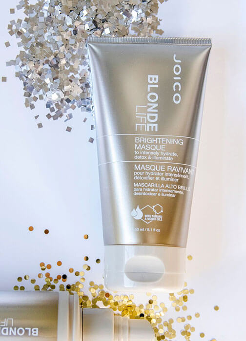 blonde life brightening masque bottle