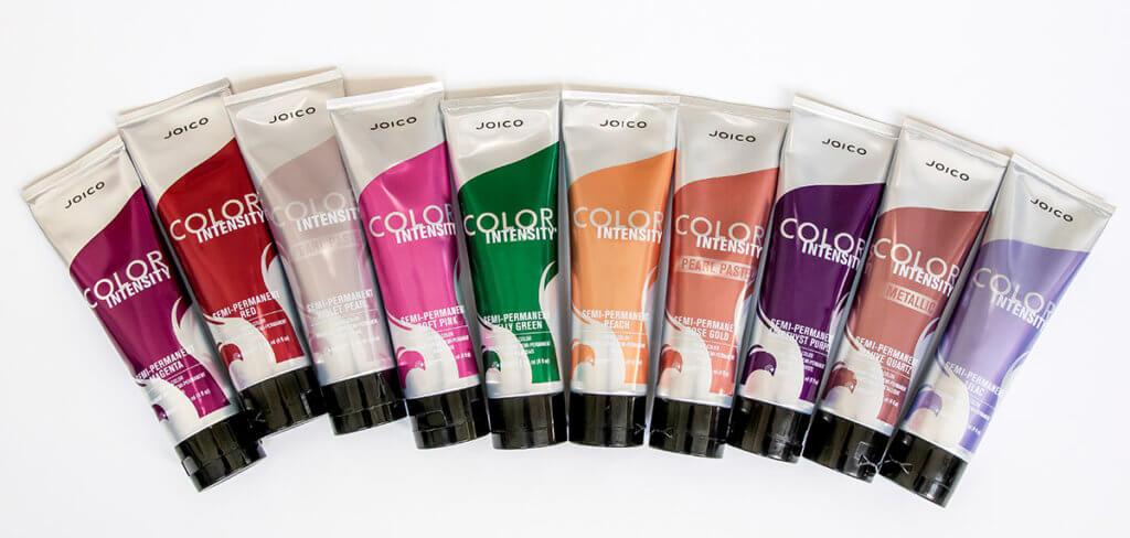 color intensity group bottles
