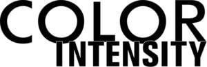color intensity logo