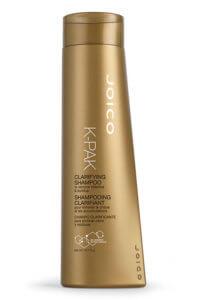 k-pak clarifyng shampoo bottle