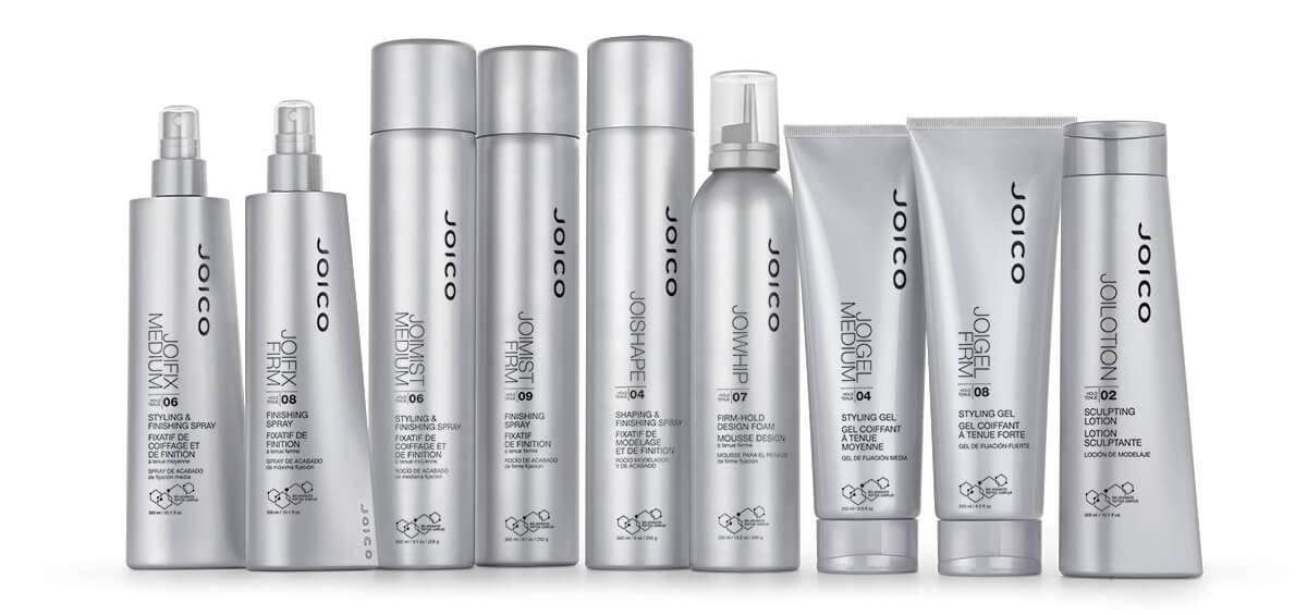 Joico Styling products full line bottles