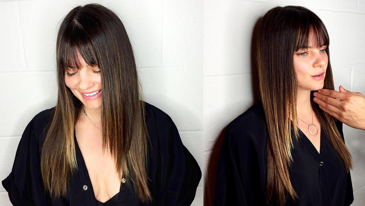 Cafe Au La It Sombre Hair Color Formula After