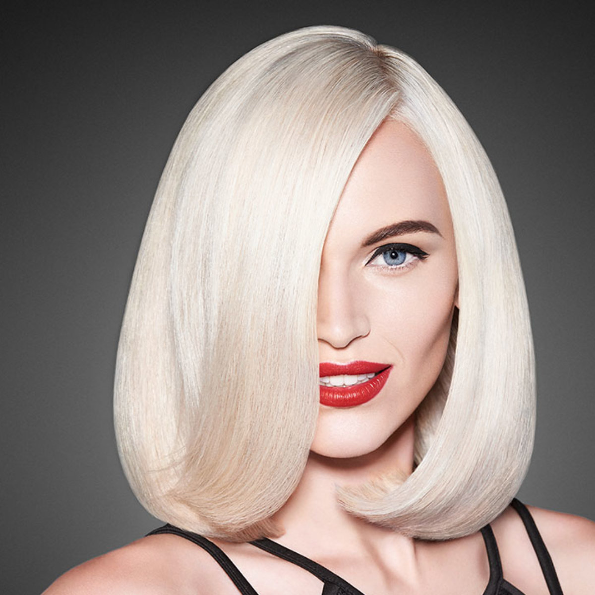 Power Platinum Blonde Hair Color Model After