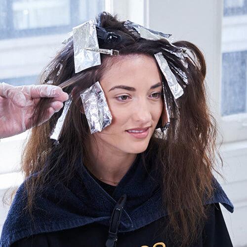 Royal Brunette Hair Color Formula Step 10