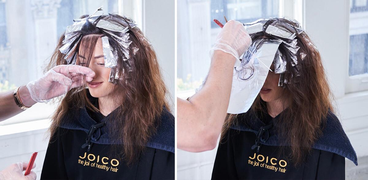 Royal Brunette Hair Color Formula Step 11