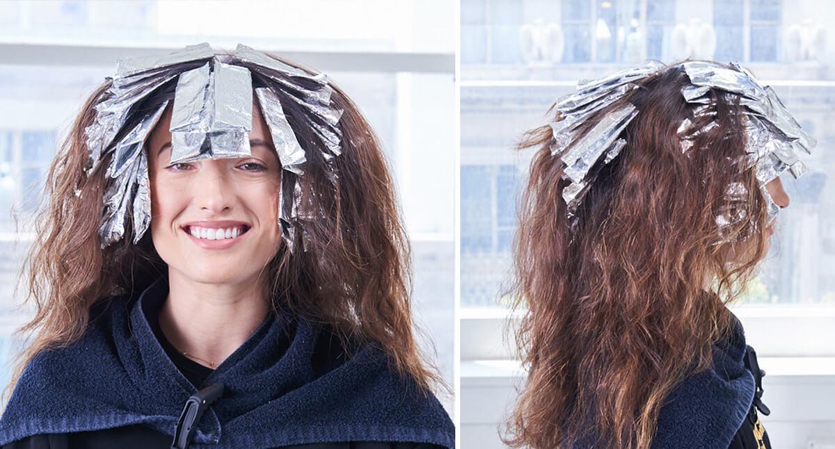Royal Brunette Hair Color Formula Step 12