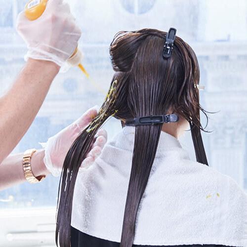 Royal Brunette Hair Color Formula Step 13