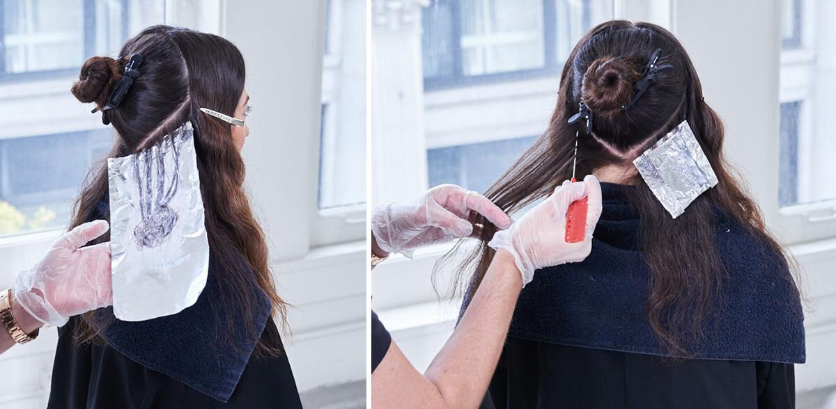 Royal Brunette Hair Color Formula Step 2