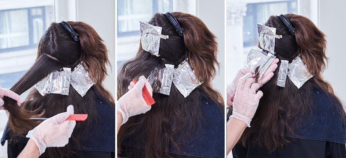 Royal Brunette Hair Color Formula Step 5