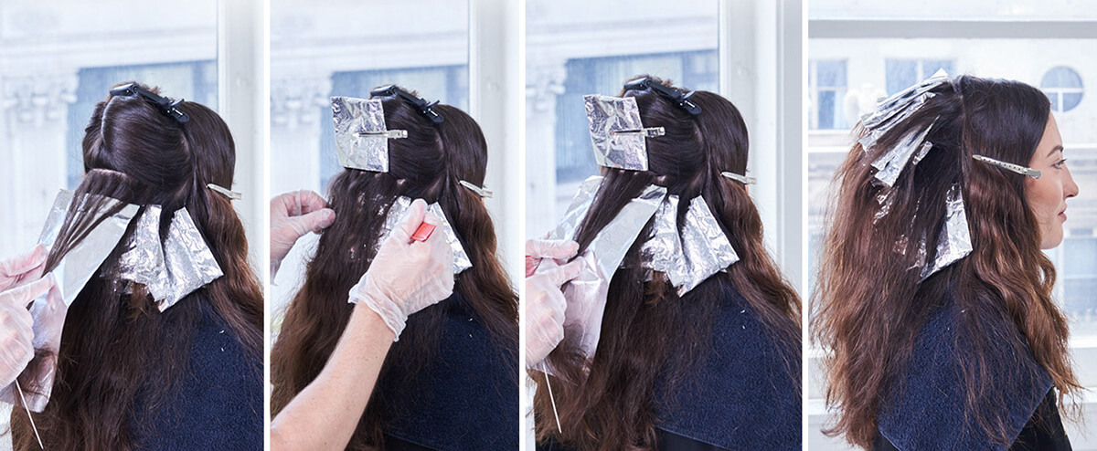 Royal Brunette Hair Color Formula Step 6