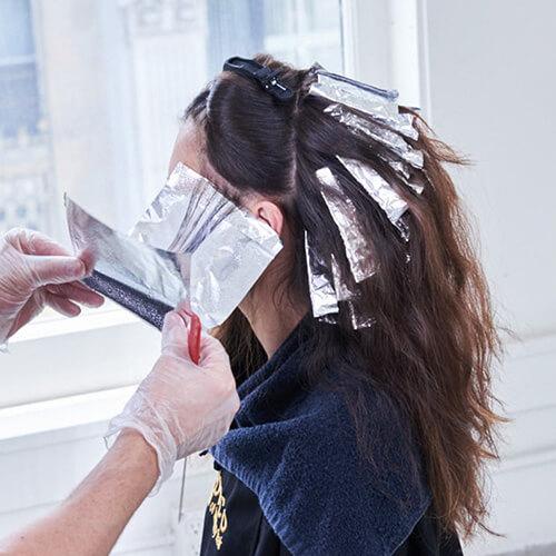 Royal Brunette Hair Color Formula Step 7
