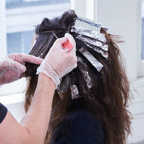 Royal Brunette Hair Color Formula Step 9