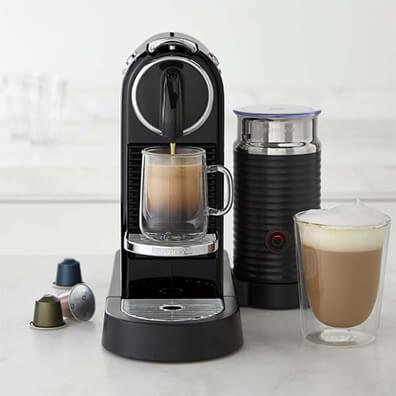 Nuspresso Coffee Machine Brewing Coffee