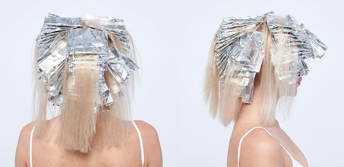 Platinum power blonde tutorial Step11