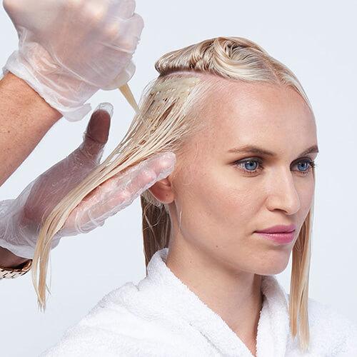 Platinum power blonde tutorial Step12