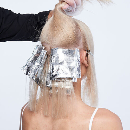Platinum power blonde tutorial Step2
