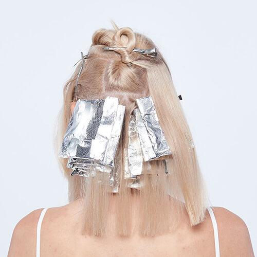 Platinum power blonde tutorial Step3