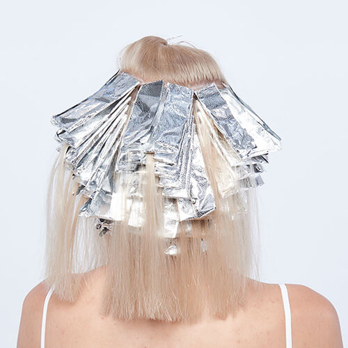 Platinum power blonde tutorial Step4