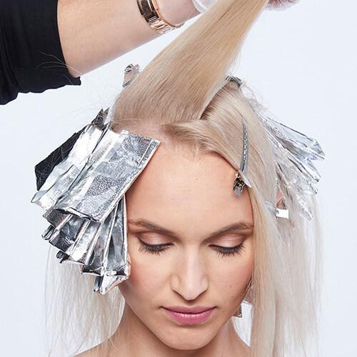 Platinum power blonde tutorial Step8