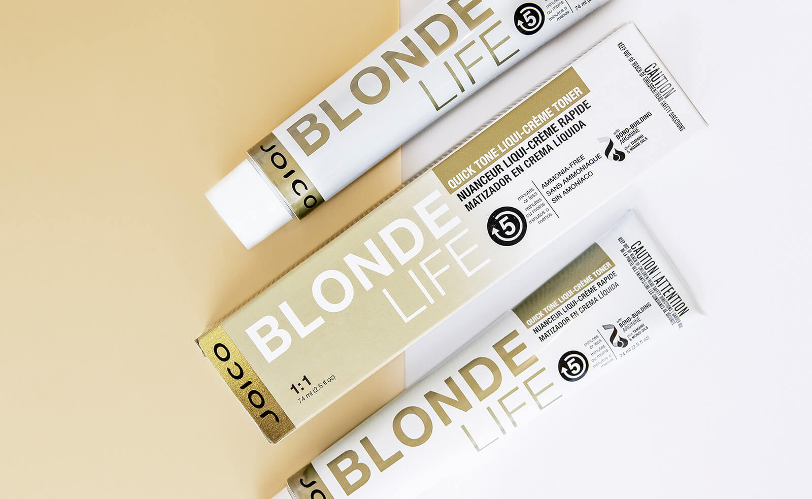 Blonde Life Quick-Tone Box and tubes