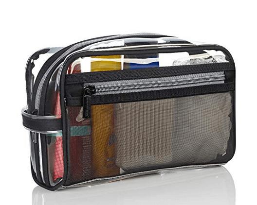 Toilatry bag for traveling