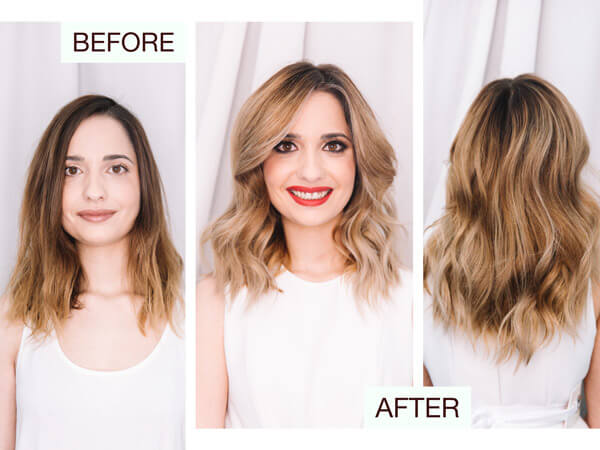 Larisa Love client Before and After