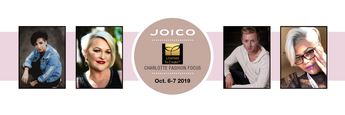 Charlotte Fashion Focus Banner with featured artists