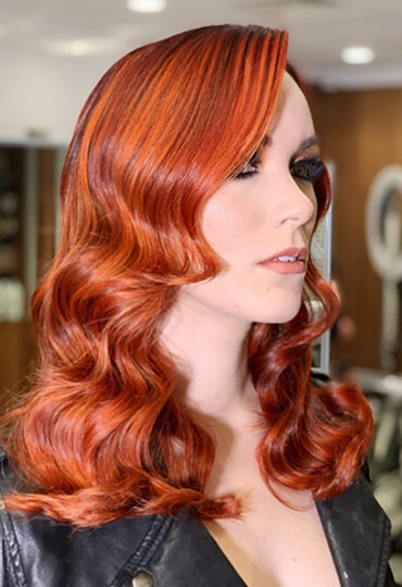 Larisa Love's Multi-Dimensional Red Masterpiece – Joico