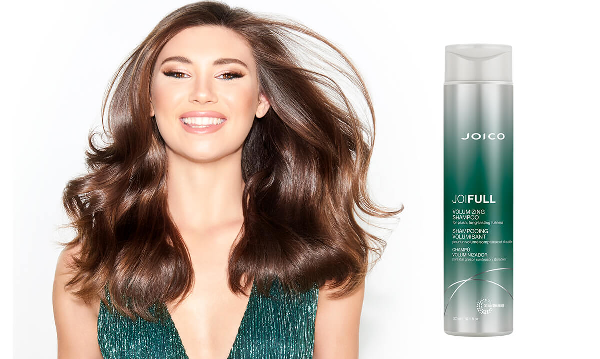 JoiFull Shampoo model and product
