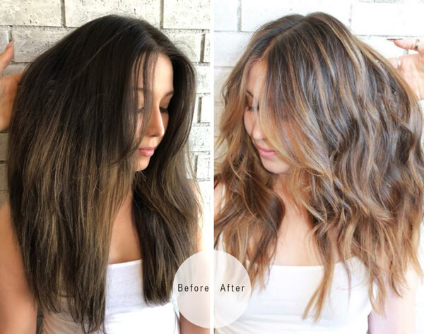 Hair feels sweesptakes winner before and after hair transformation
