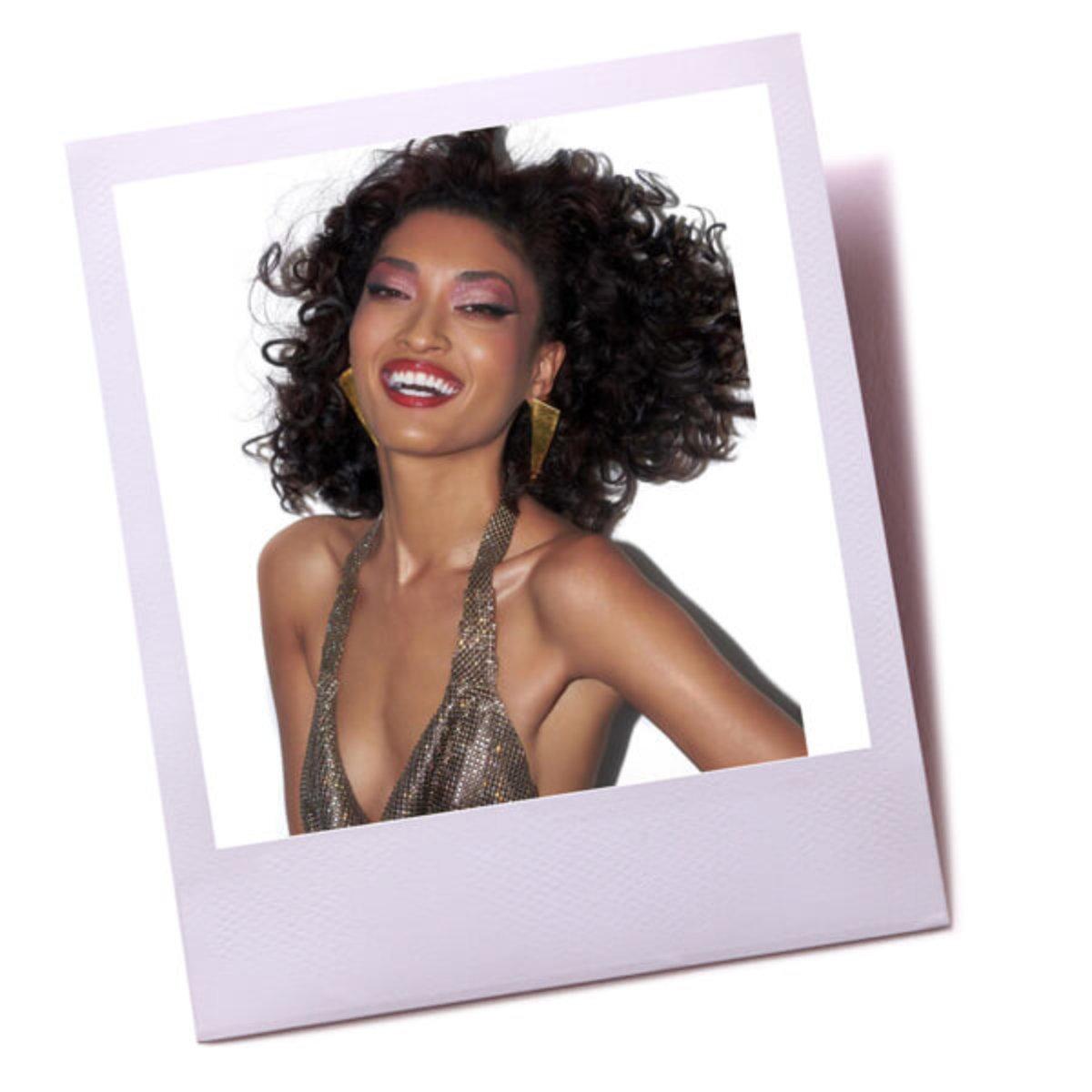 Natural textured curls
