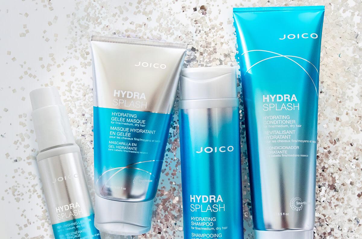 Joico HydraSplash bottles