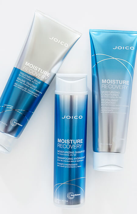 Joico product bottles