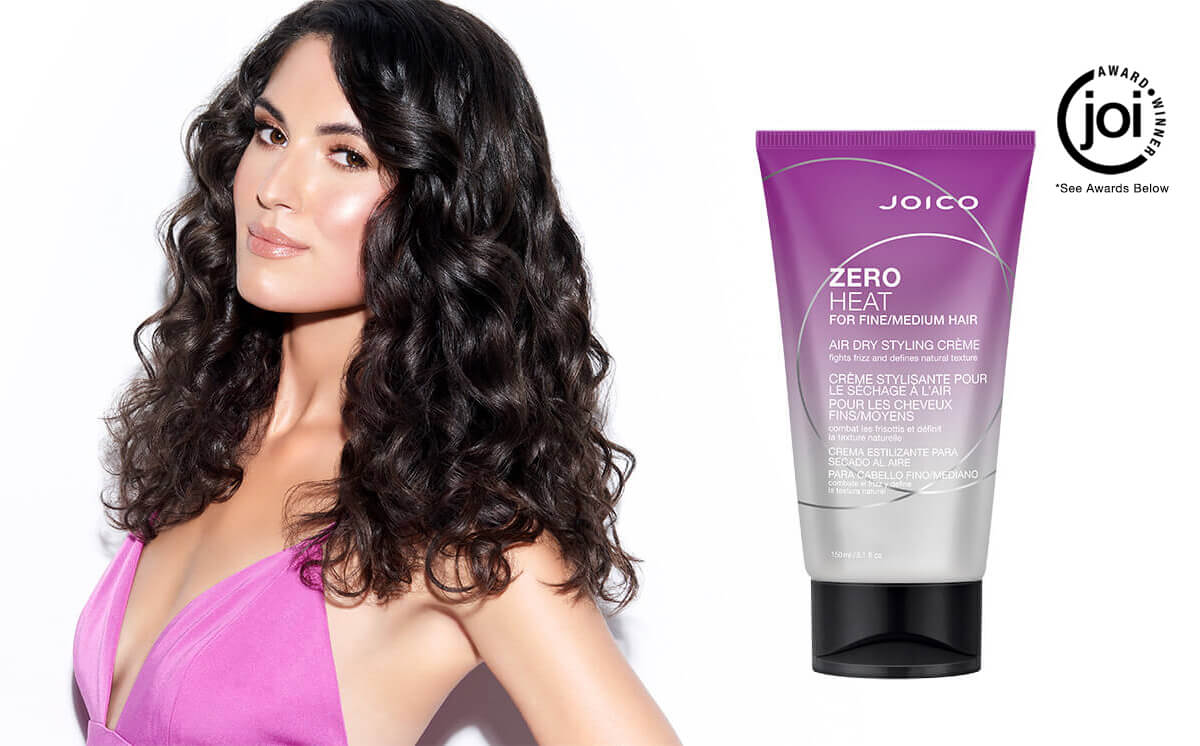 Zero Heat Air Dry Styling Creme For Fine Medium Hair Joico